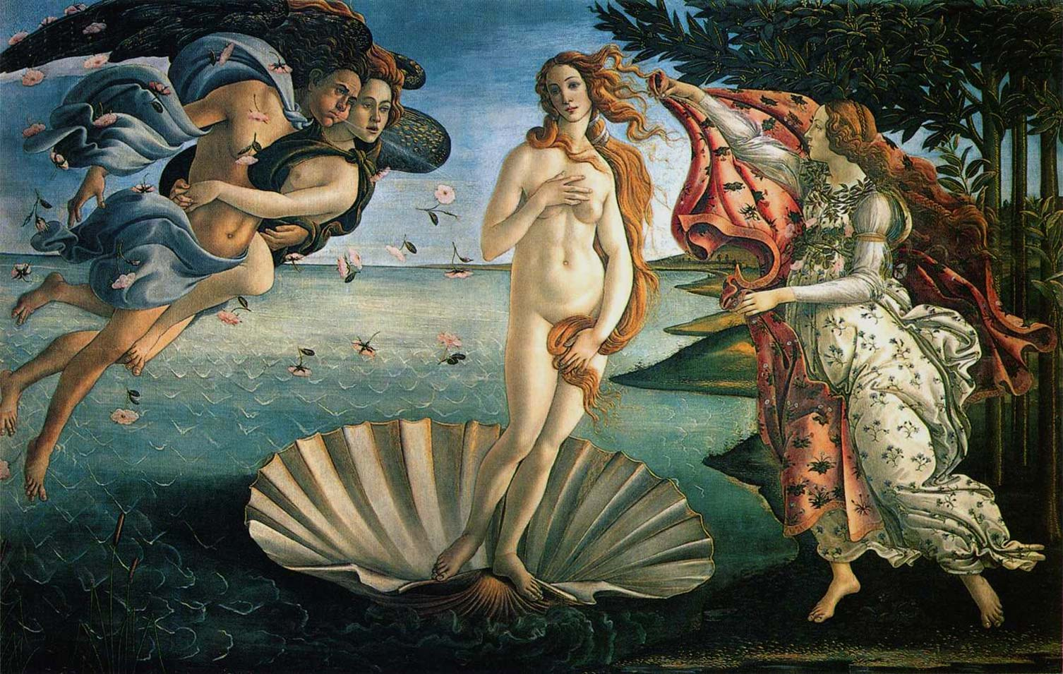 The Birth of Venus, Sandro Botticelli, c.1485