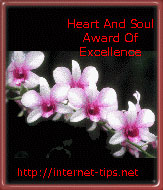 Internet Tips and Secrets Heart and Soul Award