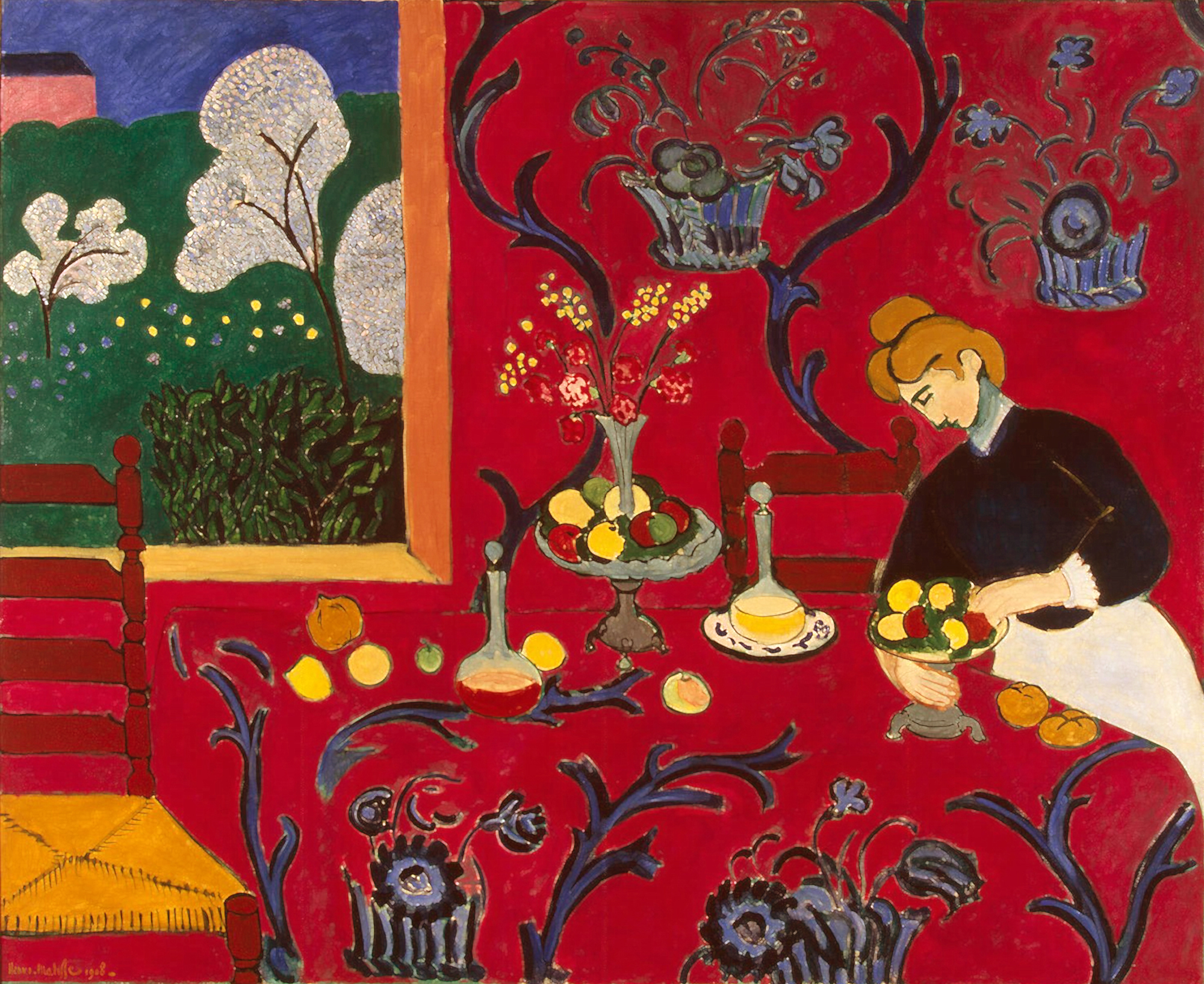 The Red Room, Henri Matisse, 1908