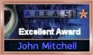 AREA51 Excellent Award