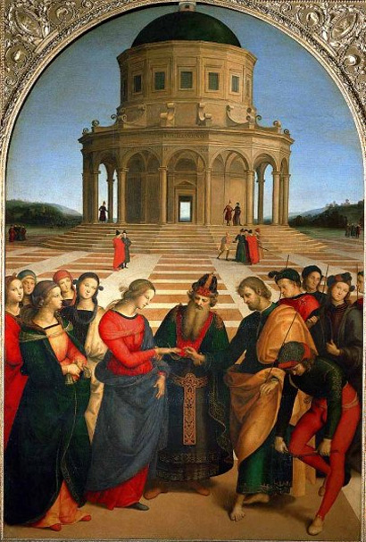 Marriage of the Virgin, Raphael, c.1504
