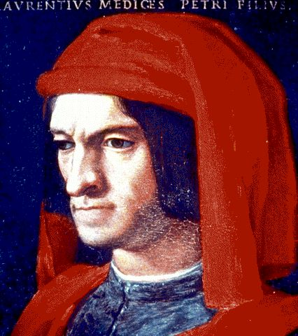 Portrait of Lorenzo de' Medici